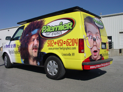 Custom Vinyl Van Wrap